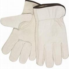 Cowhide Split Leather Gloves Safety Work Tool Gloves