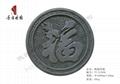 唐語精美仿古磚雕鶴鹿同福TY-GY036  1