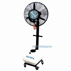 Deeri Factory supply High quality rainproof floor type spraying fan