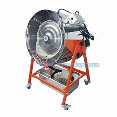 Deeri Factory Standing portable misting water spray blower for industry
