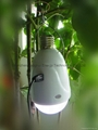 Solar Power Product Round LED Bulb Light