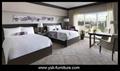 5 Star Hotel Bedroom Furniture Model