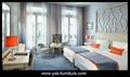 Deluxe Hotel Wooden Bedroom Sets Design Model 2