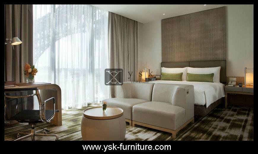 Deluxe Hotel Wooden Bedroom Sets Design Model 3