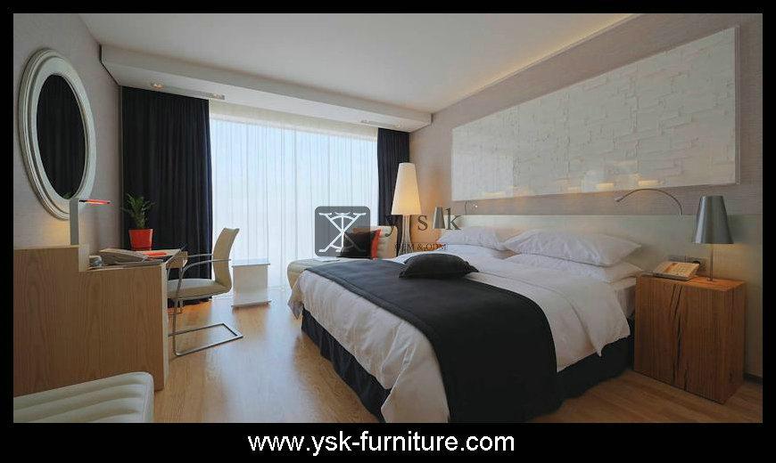 Deluxe Hotel Wooden Bedroom Sets Design Model 4