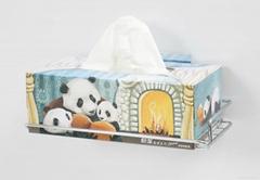 Stainless Bathroom Tissue Box Holder