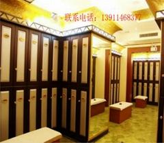 桑拿洗浴中心更衣櫃設備