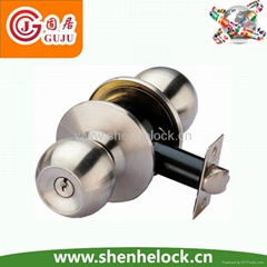 high security Cylindrical knob lock