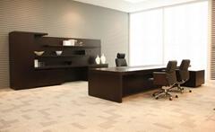 圣奥办公家具大班台文件柜老板桌