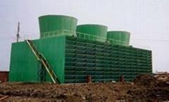 山东供应奥瑞HRT-100U方形横流式冷却塔