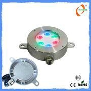 1.6*1w Led RGB First class IP68 stainless steel led underwater light