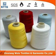 aramid fire resistant clothing sewing thread