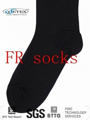 FR flame retardant modacrylic sock