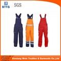 Workwear Pants Cotton Bib Pants for FR