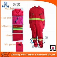 EN11612 Ysetex flame retardant multifunctional safety apparel