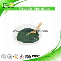 EOS & USDA Certified Organic Spirulina Powder & Tablet, Spirulina