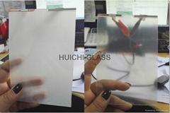 Self-adhesive film for intelligent glass