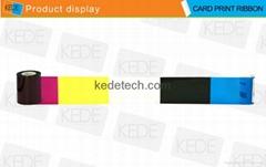 For CIM NC900KRC411 YMCKO Color  Ribbon-200 prints