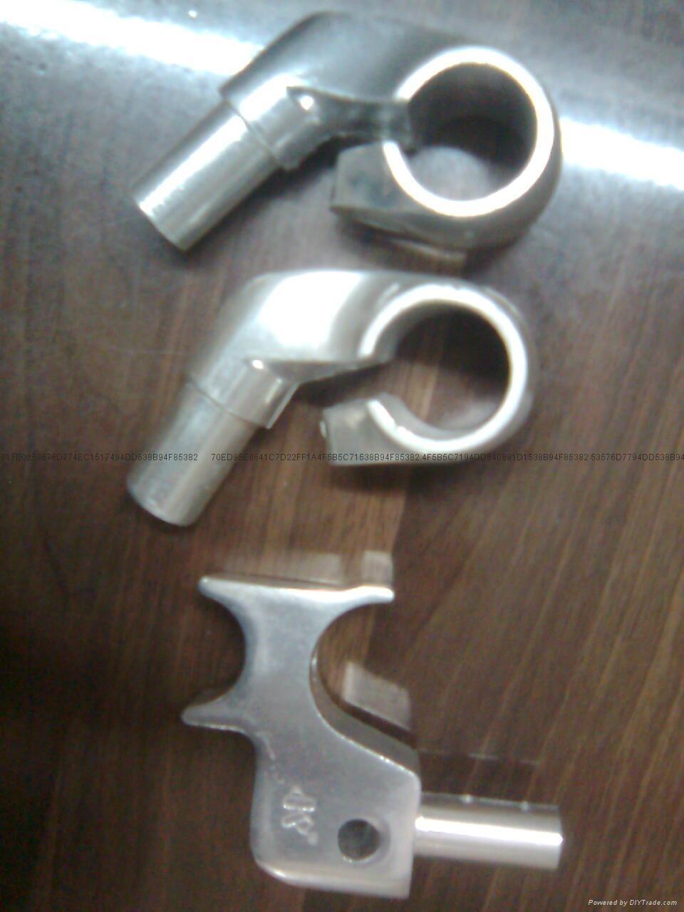 輪椅壓鋁合金鑄件 2
