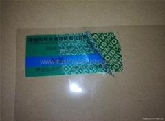 VOID Tamper Evident Sticker Security Seal Label