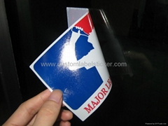 Mirror Printing Transparent Vinyl Sticker Decal