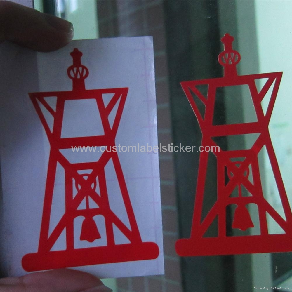 Letter cut transfer vinyl stickers 1