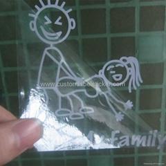 Custom Vinyl Letter Cut Transfer Stickers