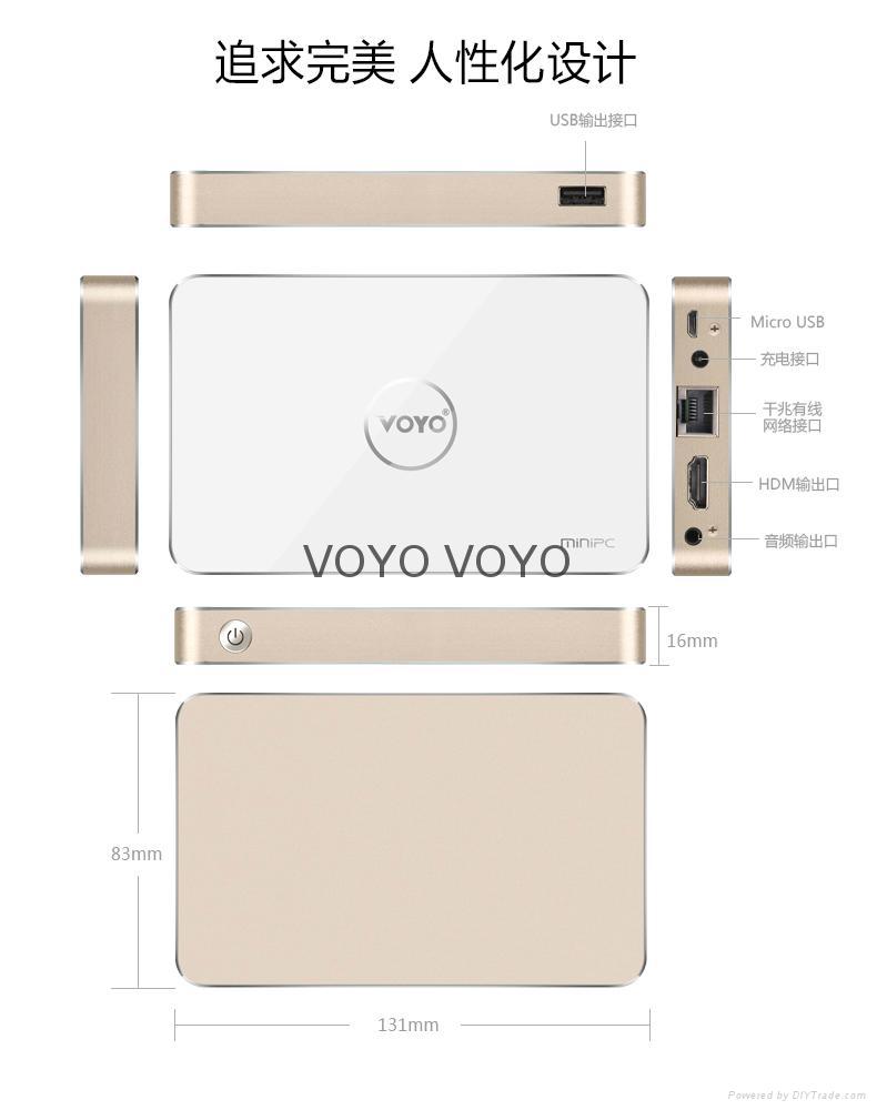 Voyo  PC-box V2  mini主机  4