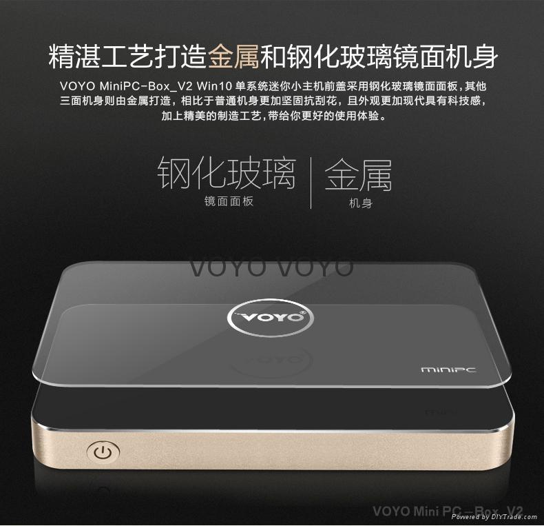 Voyo  PC-box V2  mini主机  5
