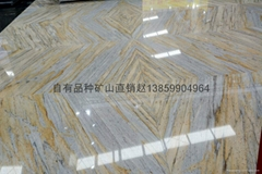 OWN QUARRY BIG GRANITE SLAB-ARISTON GOLD