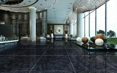 NEW VOLGA BLUE-MESSINA BLACK GRANITE CUT-TO-SIZED TILES ON SAL