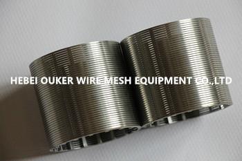 wedge wire screen tube 1