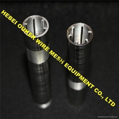 歐科網25微米篩縫繞絲篩管焊接機設備