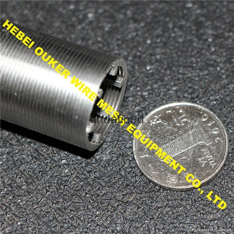 Ouker high precision slot tube johnson screen welding mahcine 4