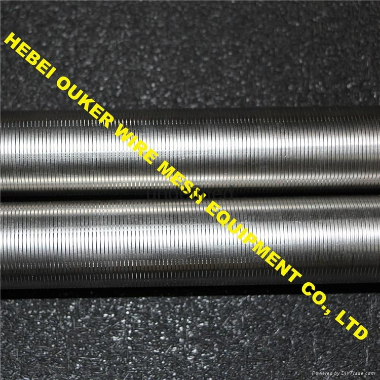 Ouker high precision slot tube johnson screen welding mahcine 5