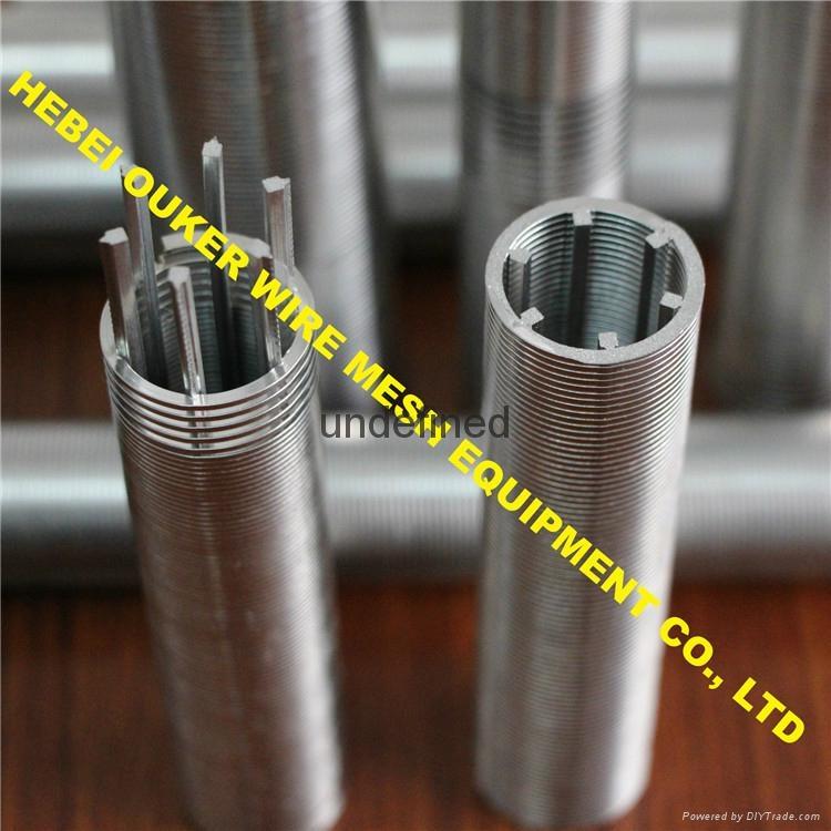 Oouker wire mesh mining sieve slot tube wedge wire screen welding machine 1
