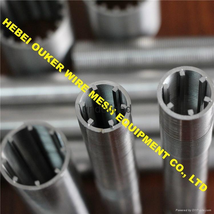 Oouker wire mesh mining sieve slot tube wedge wire screen welding machine 4