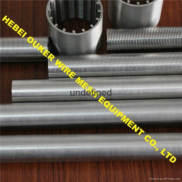 Oouker wire mesh mining sieve slot tube wedge wire screen welding machine 5