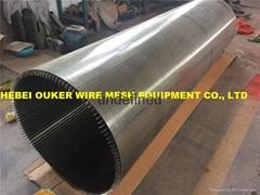 Mining sieve wedge wire screen welding machinery