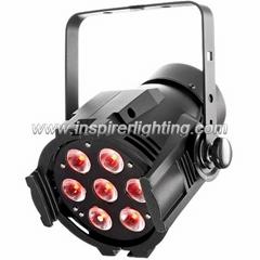 Indoor mini quad-colors 7X12W mini led par light RGBW