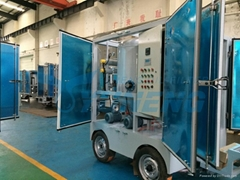 Energy Saving Mobile Transformer Oil Purification Machine