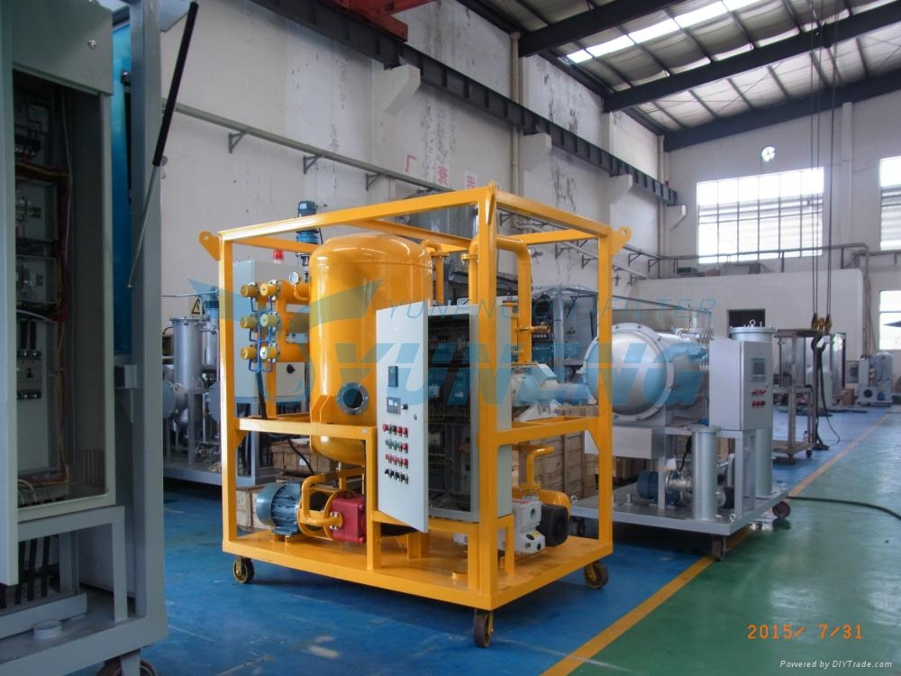 High Efficiency Used Transformer Oil Filter Machine 1