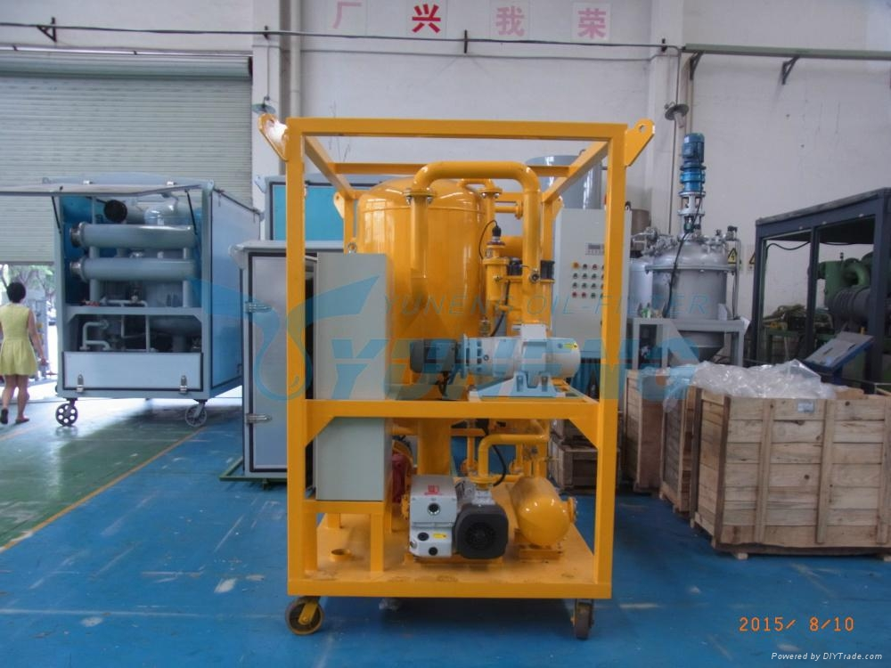 High Efficiency Used Transformer Oil Filter Machine 2