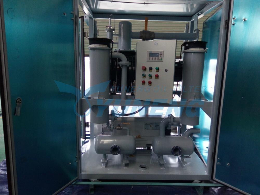 Popular Mobile Transformer Evacuation Machine with ISO 1