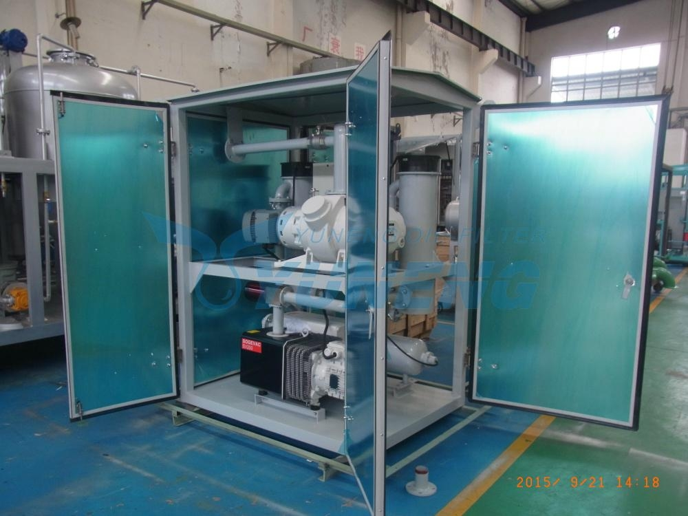 Two Stage Vacuum Pumping Unit for Transformers 2