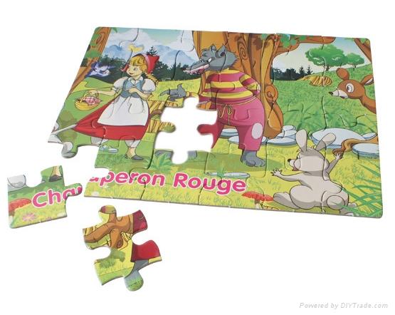 Custom Printing Paper Jigsaw Puzzle Game 1