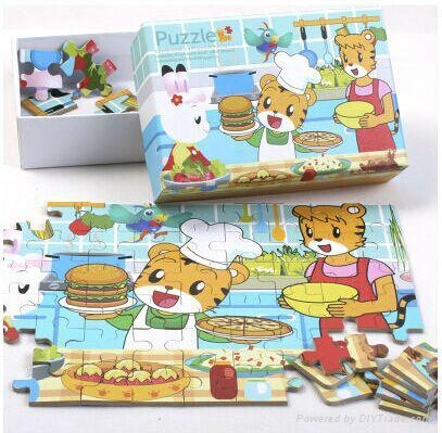 Children Customized Cardboard Jigsaw Picture Puzzles Games 1