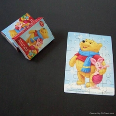 Paper puzzle,puzzle jigsaw,cardboard puzzle