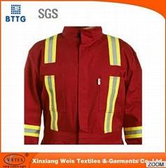 EN471 hi vis flame retardant reflective tape for firefighting uniform