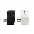 Mini RGB LED Lamp Base Light Sensor Wall Plug TDL-X 2